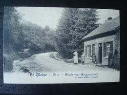 La GLEIZE - Gare - Route Vers BORGOUMONT En 1914 - Stoumont