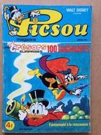 Disney - Picsou Magazine - Année 1978 - N°75 (avec Grand Défaut D'usure) - Picsou Magazine