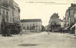 RIBERAC Place Nationale Et Rue De L'Hopital  RV - Riberac