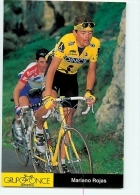 Mariano ROJAS - Equipe Cycliste ONCE - Saison 1995 - 2 Scans - Cyclisme