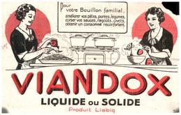 Po V/Buvard Bouillon Viandox (Format 28 X 13) (N= 7) - Soups & Sauces
