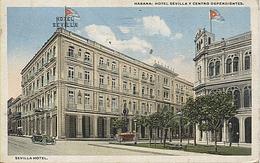 X117592 ANTILLES CUBA LA HAVANE LA HABANA LA HAVANA HOTEL SEVILLA Y CENTRO DEPENDIENTES - Cuba