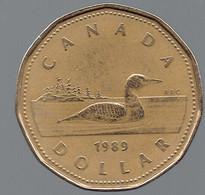 Pièce De 1 Dollar De 1989 - Canada