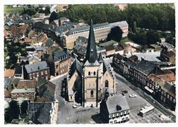 Bilzen - Luchtopname - Panorama Met Marktplein - Bilzen