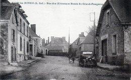 Sion-les-Mines. Rue Des Mitrons Et Route De Grand-Pougeray. (Tabac, Pub Byrrh) - France