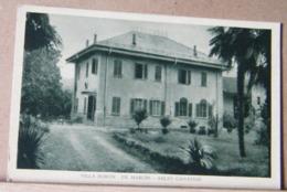 SALTO CANAVESE, VILLA BORON - DE MARCHI - FONDO AZZURRO, NON VIAGGIATA STIMA 1930 - Altre Città