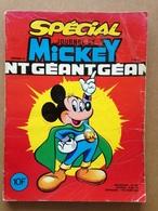Disney BD Spécial Mickey Géant N°1408 Bis - Année 1979 (avec Grand Défaut D'usure) - Journal De Mickey