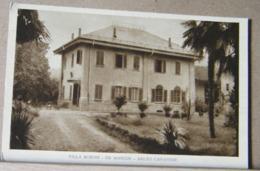 SALTO CANAVESE, VILLA BORON - DE MARCHI - FONDO SEPPIA, NON VIAGGIATA STIMA 1930 - Altre Città