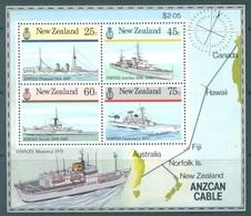 NEW ZEALAND - MNH/** - 1985 - ANZCAN CABLE - Yv BLOC 53 Mi Bl 7 SG MS1383 Sc 842a - Lot 17173 - Blocks & Sheetlets