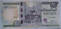20 Pounds Egypt 2016 UNC--Tarek Amer (Egypte) (Egitto) (Ägypten) (Egipto) (Egypten)  Africa - Aegypten