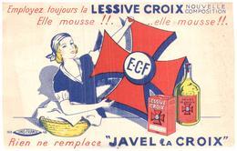 Pm J C/Buvard Javel La Croix  (Format 21 X 14) (N= 2) - Wash & Clean
