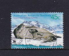 Australian Antarctic Territory  S 145  2001 Leopard Seals 45c Mother And Pup Used - Australian Antarctic Territory (AAT)