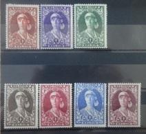 BELGIE   1931   Nr.  326 - 332    Scharnier *       CW  82,50 - Nuovi