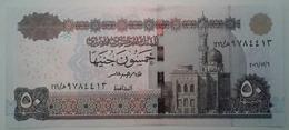 50 Pounds Egypt 2016 UNC Tarek Amer (Egypte) (Egitto) (Ägypten) (Egipto) (Egypten)  Africa - Aegypten