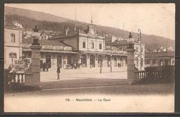 Carte P ( Suisse / Neuchâtel - La Gare ) - NE Neuchatel