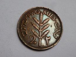 Israel Palestine 2 Mils 1941    Km#2  Bronze  TB - Israel