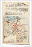 REGIA MARINA  ITALIANA - DIFESE PREPARATE DALLA R.MARINA SULL'ADIGE E SUL PO DOPO LO SFONDAMENTO DI CAPORETTO - NV FP - Guerra 1914-18