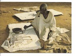 REPUBLIQUE DE COTE D'IVOIRE : ARTISTE PEINTRE à KORHOGO  / BELLE CPM N° 84598 écrite Non Datée  / TBE - Chère - Côte-d'Ivoire