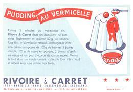 Pa R C/Buvard Pâtes Rivoire & Carret (Format 21 X 13.5) (N= 1) - Food
