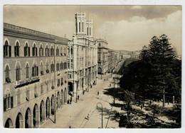 CAGLIARI   VIA   ROMA          2 SCAN  (VIAGGIATA) - Cagliari