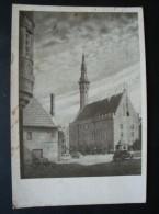 Tallinn Eesti, Altes Rathaus, Gelaufen 1942 Mit Zensur - Estonia