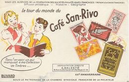 Buvard Café San Rivo - XXe Aniversaire - Coffee & Tea