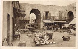 Carte Photo Lnon Ocalisée - Marché  - Marchands    (107134) - Marchés