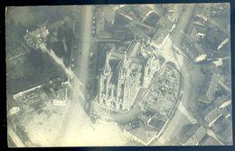 Cpa Carte Photo Du 51 Eglise Et Une Partie Du Village De L' Epine Vue Prise à 600 M D' Altitude  AVRIL18-30 - L'Epine