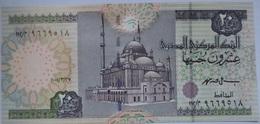 20 Pounds Egypt 2001 UNC-- Ismail Hassan (Egypte) (Egitto) (Ägypten) (Egipto) (Egypten)  Africa - Egitto