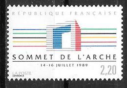 Année 1989 _ N° 2600**+2601**+2606**+2607**+2608**+2609** - France