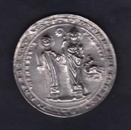 Medaille Etain Les Etains De L' Abbaye - Etains D' Anjou - Metz - St Etienne Saint Clement Dragon - Other