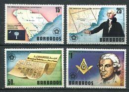 103 BARBADES 1976 - Masonic Franc Maconnerie Freimaurerei Freemasonry - Neuf **(MNH) Sans Trace De Charniere - Franc-Maçonnerie
