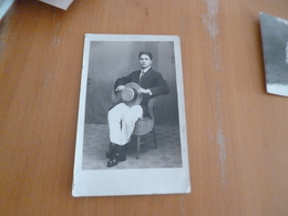Carte Photo Mayaguez Porto Rico Personnage Autographe Josè A.Frontera 1913 Paypal Ok Out Of Europe - Cartes Postales
