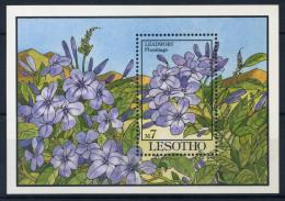 Lesotho 1993 Mi. Bl. 101 Bloc Feuillet 100% ** Fleurs, Plumbago - Lesotho (1966-...)