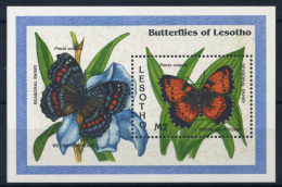 Lesotho 1993 Mi. Bl. 103 Bloc Feuillet 100% ** Papillon - Lesotho (1966-...)
