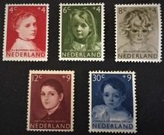 1957 Europa-zegels NVPH 702-706**) - Period 1949-1980 (Juliana)