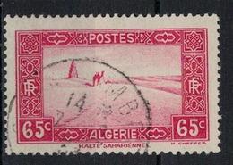 ALGERIE      N°  YVERT  113 A  ( 4 )      OBLITERE       ( O   3/26 ) - Algeria (1924-1962)