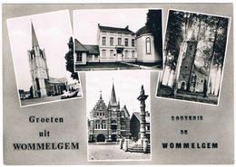 Groeten Uit Wommelgem   (4 Zichten) - Wommelgem