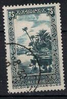 ALGERIE      N°  YVERT  114     OBLITERE       ( O   3/26 ) - Algeria (1924-1962)