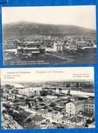 BULGARIE- 2 Cartes ( SOFIA  Vue Générale, Et Philippole Collège Français ) Bon état  Voir Scans - Bulgaria