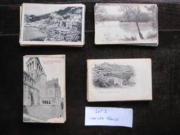 CPA - Carte Postale - Lot De 100 Cartes Postales De France - ( Lot 2 ) - Cartes Postales