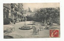 Cp , Hôtels & Restaurants , Grand Hôtel RICHE-MONT , La Grande Terrasse , Suisse , Lausanne, Voyagée 1917 - Hotels & Restaurants