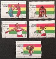 Ghana 1988 Summer Olympics, Seoul USED - Ghana (1957-...)