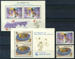 Corée Du Sud 1988 Mi. 1559, Bl. 544 Bloc Feuillet 100% ** Jeux Olympiques, Séoul - Corée Du Sud