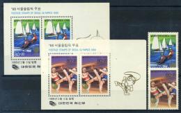 Corée Du Sud 1988 Mi. 1551, Bl. 542 Bloc Feuillet 100% ** / * Jeux Olympiques, à Séoul - Corée Du Sud