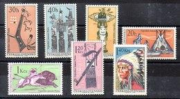 Serie De Checoslovaquia N ºYvert 1492/98 (**) - Tschechoslowakei/CSSR