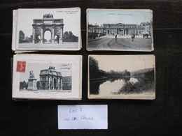CPA - Carte Postale - Lot De 100 Cartes Postales De France - ( Lot 7 ) - Ansichtskarten