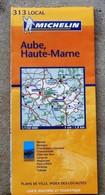 Carte Au 150.000eme AUBE HAUTE MARNE   MICHELIN 2004 - Roadmaps