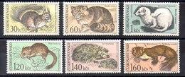 Serie De Checoslovaquia N ºYvert 1591/96 (**) - Tschechoslowakei/CSSR