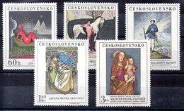 Serie De Checoslovaquia N ºYvert 1686/90 (**) - Tschechoslowakei/CSSR